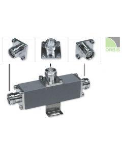Tapper 10:1/10 dB 500W 350-2700 MHz 4.3-10F