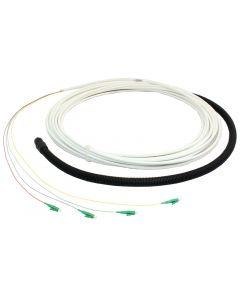 Orbis OptoFiber FTTH 4F LC APC/LC APC 15-60m