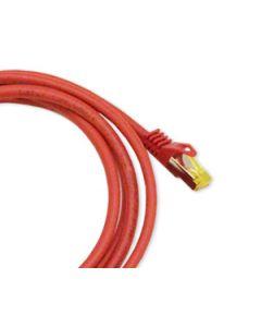Kytkentäkaapeli Orbis Vaski Cat6a RJ45 S/FTP Punainen 1m - 15m