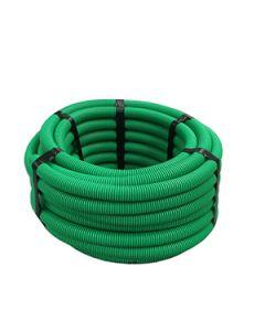 Joustava halk.suojaputki kaapeleille, vihreä,25m